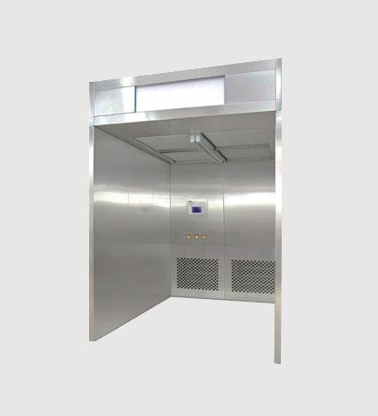 Sampling & Dispencing Booth